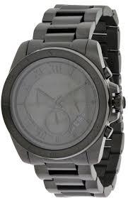 michael kors brecken black ip chronograph men s watch mk8482 michael kors brecken black ip chronograph men s watch mk8482