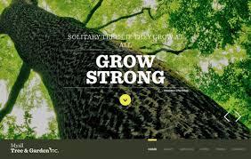 Myall Tree And Garden York Region GTA Toronto Webdesign Custom Garden Web Design Design
