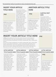 How To Create A Newspaper Template On Microsoft Word Best Photos Of Middle School Newspaper Template Newspaper