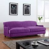 Small Picture Amazoncom Purple Sofas Couches Living Room Furniture Home