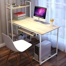 simple ikea home office. Desk With Shelf Simple Home Office Cheap Computer Leaning Ikea