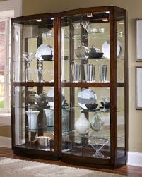 glass cabinet furniture. Image Of: Curio Cabinets Ornament Glass Cabinet Furniture T