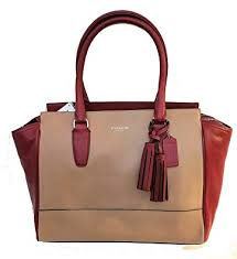 Coach Legacy Leather Medium Candace Carryall Bag
