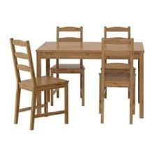 jokkmokk table and 4 chairs antique stain ikea family