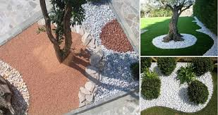 Idee Per Abbellire Il Giardino : Decorare il giardino coi sassi tante soluzioni meteofan