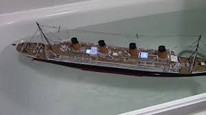 Titanic Model With Led Lights Titanic 1 350 Rc Model With Led Ligths