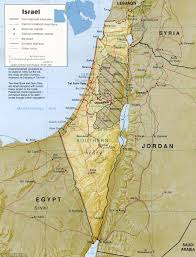 a couple of maps  israel k