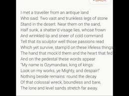 ozymandias shelley s ironic sonnet on the plight of dictators and ozymandias shelley s ironic sonnet on the plight of dictators and humanity itself