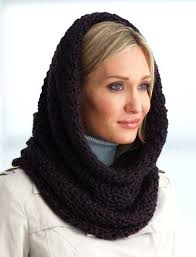 Hooded Cowl Crochet Pattern Free