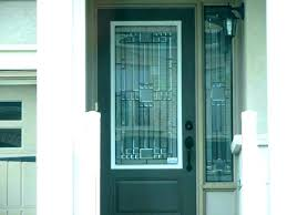 glass panels for doors tempered frosted
