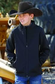 Cinch Jacket Size Chart Boys Bonded Jacket Black