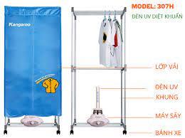 Tủ sấy quần áo (có đèn UV) Kangaroo KG307H