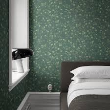 hassel grön tapet interiörbild 709 78