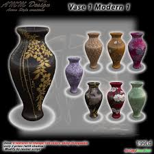 Pot Decoration Designs Second Life Marketplace AMM Design Furniture Decoration Vase 100 23