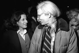 Fran Lebowitz and Andy Warhol, New York, 1977 : OldSchoolCool