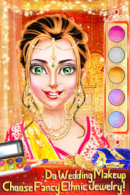 traditional wedding salon makeup dress up game 2 0 8 screenshot 1