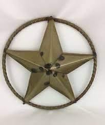 image is loading texas star metal wall art round plaque medallion  on texas star metal wall art with texas star metal wall art round plaque medallion rope 14 rustic