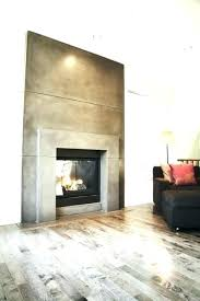 concrete fireplace contemporary living room pictures diy wall hearth ideas concrete fireplace