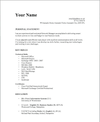 Sample Student Resume Format Nice Ideas Simple Resume Format For