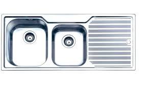 sink with drainboard kitchen