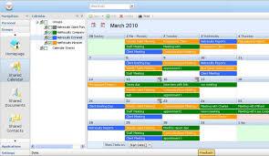 Online Project Management Calendar Hyperoffice Project Management Software