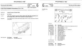 here are the first two pages of 8 of the trailer hitch installation instructions the entire doent can be found on the web after a little search