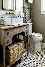 Cute cottage bathroom idea! I'm loving the mosaic floor tile. Bathroom love