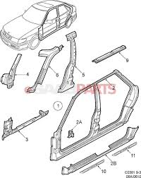 Car exterior parts diagram esaabparts diagram chart gallery