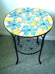round drum coffee table small drum coffee table mosaic outdoor coffee table mosaic outdoor metal drum