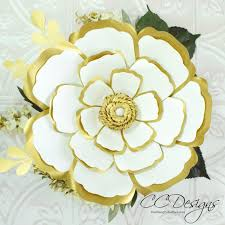 Flower Templates For Paper Flowers Cora Style Giant Paper Flower Template Diy Flowers