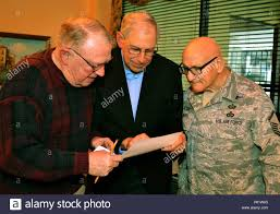 From left to right, retired Col. Lou Meier, former 111th Fighter ...