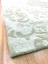 grey area rug 8x10 olga solid gray
