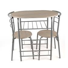 3 Piece Dining Set Kitchen Space Saver Dining Set Expandable Dining Table For