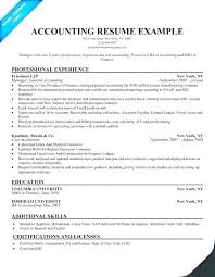 Accounting Resume Examples Custom Sample Accounting Resume No Experience Samples Examples Best In Cost