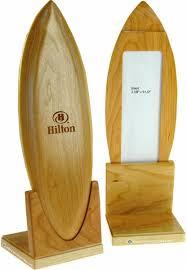 Wooden Menu Display Stands Impact Menus Surfboard Tabletop Display Stands 93