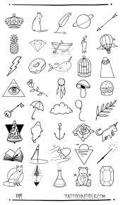Cute Easy Designs To Draw Tattoos Rose Tato Tats Pinterest Tatos