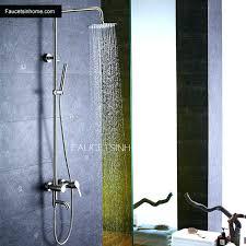 outdoor shower head stainless steel nz