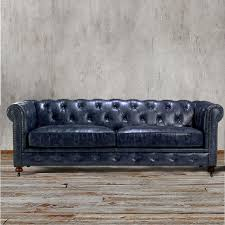 interior navy blue leather sofa magnificent chesterfield indigo couch living room manufacturers and loveseat navy blue