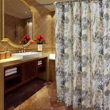 elegant gray ivory fl luxury shower curtains