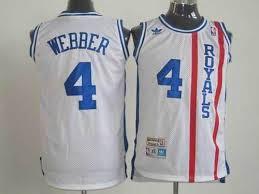 Official Quality Cincinnati Royals 4 Chris Clothing Webber