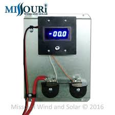 dc and ac meters missouri wind and solar 100 amp single digital dc meter pre wired board