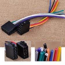 female universal iso wire harness adapter connector cable for car universal wiring harness for car stereos image is loading female universal iso wire harness adapter connector cable