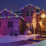 outdoor christmas lights house ideas. Christmas Lights For House Exterior Outdoor Ideas The Roof
