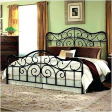 Bed With Headboard And Footboard Metal Bed C King Headboard ...
