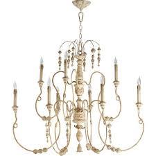 nto persian white nine light chandelier