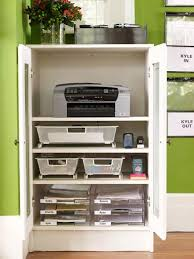 cupboard organization a home office