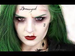 you the joker female version squad jared leto makeup tutorial