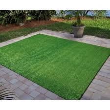 Artificial indoor grass Tall Tamera Artificial Grass Turf Solid Design Green Indooroutdoor Turf Wayfair Artificial Grass Wayfair