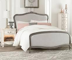 kensington silver finish katherine full size upholstered bed