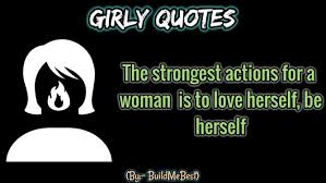 Girly Quotes Girl Caption Women Feminism Status Android Apps